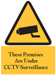 CCTV Sign For Premises Sign