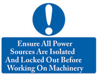 Ensure All Power Sign