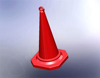 NESTABLE TRAFFIC CONE